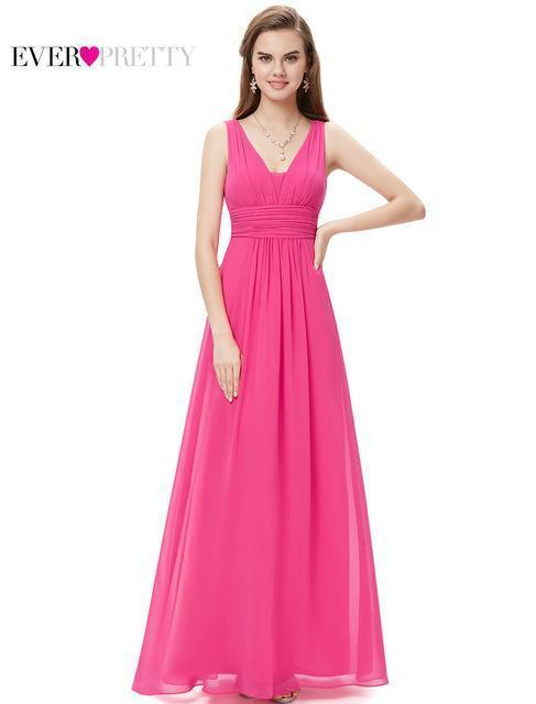 f1a6be8ecae  Clearance Sale  Bridesmaid Dresses Ever Pretty He08110 Stylish Lady Double  V Neck Chiffon-