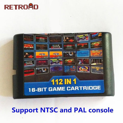 Clearance The Latest 126 In 1 Game Cartridge 16 Bit Md Game Card For Sega Mega Drive For Sega-Video Games-RETROAD Official Store-EpicWorldStore.com