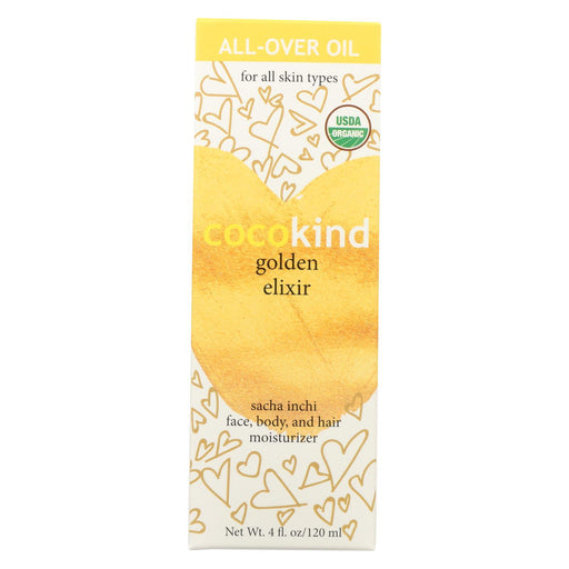 Cocokind Essential Oil - Golden Elixir - Case Of 1 - 4 Fl Oz.-Eco-Friendly Home & Grocery-Cocokind-EpicWorldStore.com