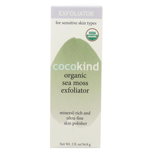 Cocokind Exfoliator - Organic - Sea Moss - 2 Oz-Eco-Friendly Home & Grocery-Cocokind-EpicWorldStore.com