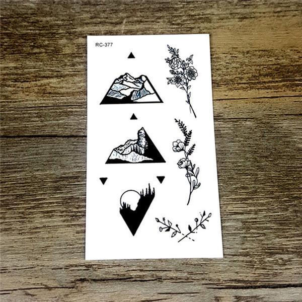 Colorful Butterfly Fox Feather Body Art Stylish Harajuku Waterproof Temporary Tattoo For Man Woman-Tattoo & Body Art-WU&MO Tattoo Factory-RC377-EpicWorldStore.com