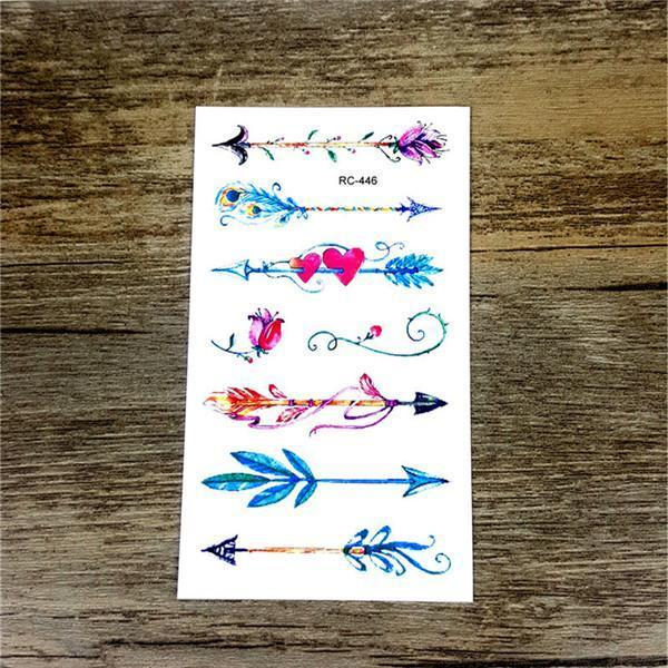 Colorful Butterfly Fox Feather Body Art Stylish Harajuku Waterproof Temporary Tattoo For Man Woman-Tattoo & Body Art-WU&MO Tattoo Factory-RC446-EpicWorldStore.com