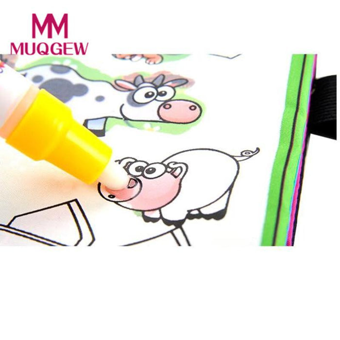Coloring Book Kids Animals Painting Magic Water Drawing Book Water ...