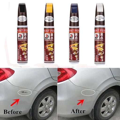 Colors Auto Car Coat Paint Pen Touch Up Scratch Clear Repair Remover Remove Tool-Car Wash & Maintenance-Car Accessory World-Silver-EpicWorldStore.com