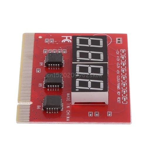Computer Pci Post Card Motherboard Led 4-Digit Diagnostic Test Pc Analyzer #H029#-Computer Components-NewTop DigitalEra Store-EpicWorldStore.com