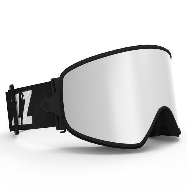Copozz Ski Goggles 2 In 1 With Magnetic Dual-Use Lens For Night Skiing Anti-Fog Uv400 Snowboard-Snow Goggles-copozz Official Store-Silver lens-EpicWorldStore.com