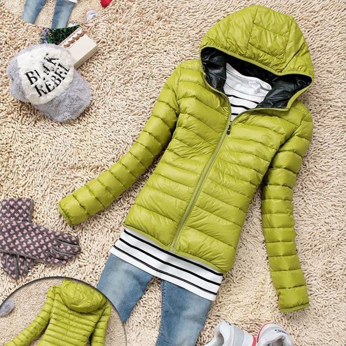 Cotton Hooded Women Jacket New Winter Thicken Casual Women Coat Slim Padded Outwear-Jackets & Coats-ChuanKe Co.,Ltd. Store-Black-XS-EpicWorldStore.com
