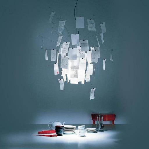 Creative Led Pendant Lamp Ingo Zettel'Z 5 Paper Pendant Light Fixtures Luminaires White Art For Home-Pendant Lights-ZhongShan BaiYu Lighting Co., Ltd Store-EpicWorldStore.com