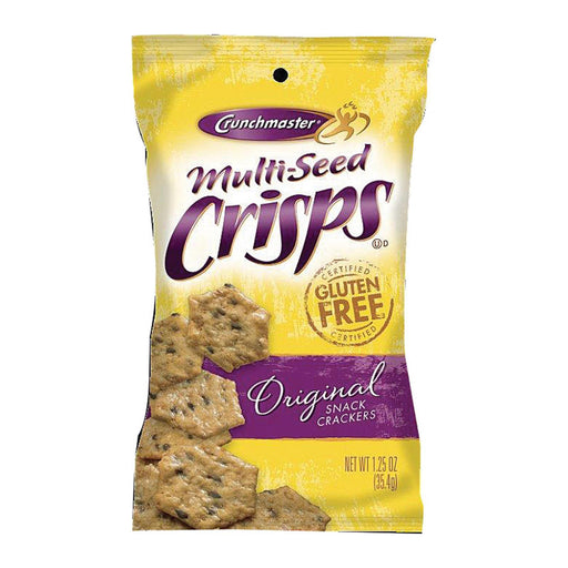 Crunchmaster Multi-Seed Crisps - Original - Case Of 24 - 1.25 Oz-Eco-Friendly Home & Grocery-Crunchmaster-EpicWorldStore.com