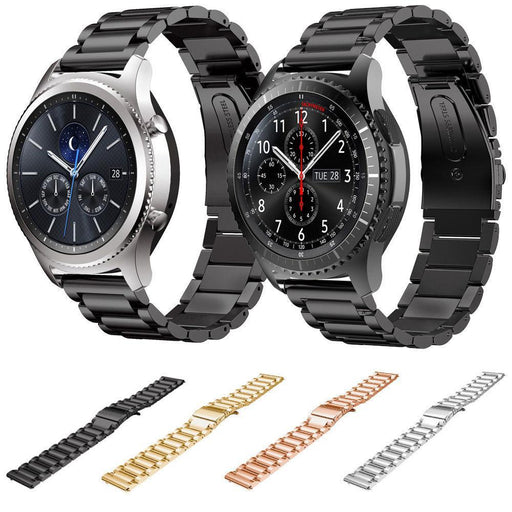 Dahase Stainless Steel Watch Band For Samsung Gear S3 Frontier Strap For Gear S3 Classic Smart Watch-Watch Accessories-Dahase Store-Black-EpicWorldStore.com
