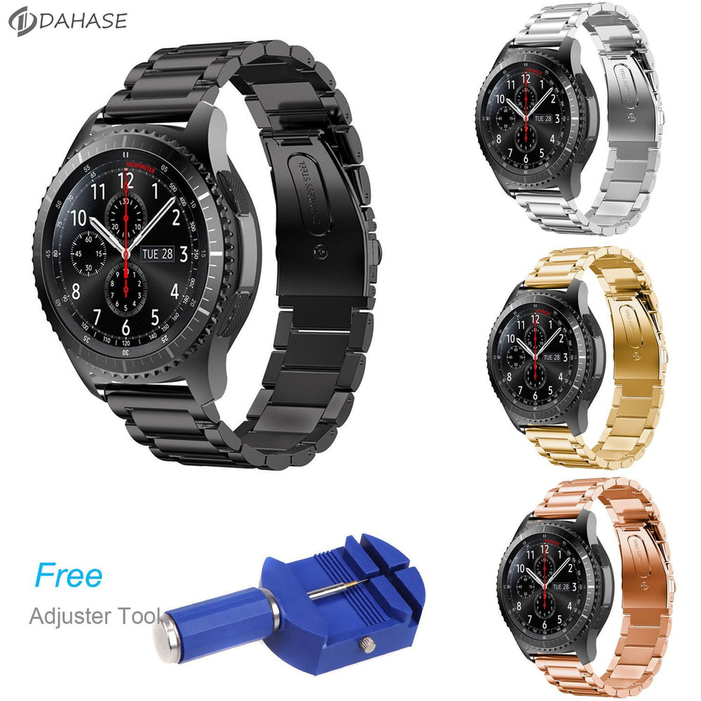 Dahase Stainless Steel Watch Band For Samsung Gear S3