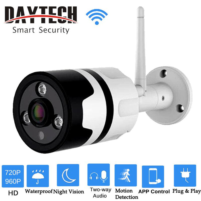 Daytech Wireless Ip Camera Wifi Security Camera Hd 720P/960P Waterproof  Outdoor Monitor Two-Way