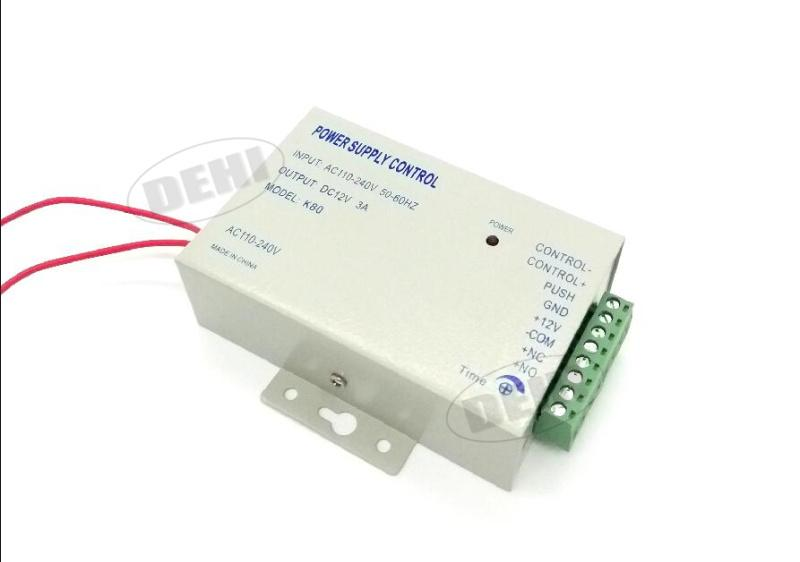 Dc 12V 3A/Ac 110~240V High Quality Door Access Control System Switching Supply Power-DEHI Store-EpicWorldStore.com