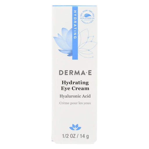 Derma E - Eye Creme Hyaluronic And Pycnogenol - 0.5 Oz.-Eco-Friendly Home & Grocery-Derma E-EpicWorldStore.com