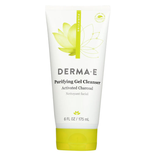 Derma E - Gel Cleanser - Purifying - 6 Oz. - 1 Each-Eco-Friendly Home & Grocery-Derma E-EpicWorldStore.com