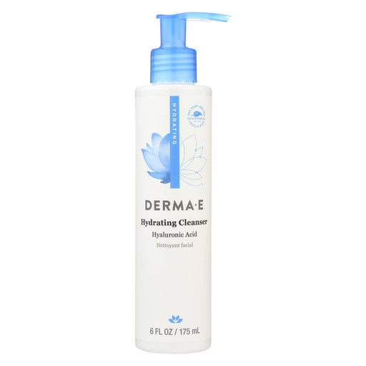 Derma E - Hyaluronic Hydrating Cleanser - 6 Fl Oz.-Eco-Friendly Home & Grocery-Derma E-EpicWorldStore.com