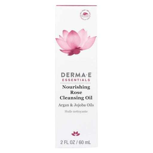 Derma E - Nourishing Cleanser Oil - Rose - 2 Fl Oz.-Eco-Friendly Home & Grocery-Derma E-EpicWorldStore.com