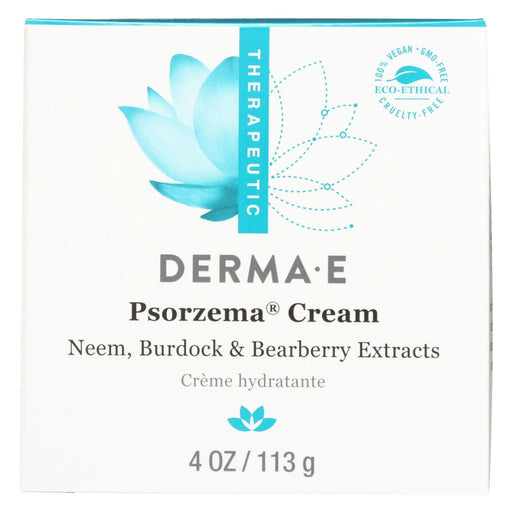 Derma E - Psorzema Natural Relief Creme For Scaling Flaking And Itching - 4 Oz.-Eco-Friendly Home & Grocery-Derma E-EpicWorldStore.com