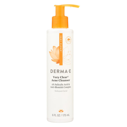 Derma E - Very Clear Cleanser - 6 Fl Oz.-Eco-Friendly Home & Grocery-Derma E-EpicWorldStore.com