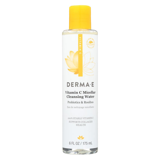 Derma E - Vitamin C - Micellar Cleans Water - 6 Fl Oz.-Eco-Friendly Home & Grocery-Derma E-EpicWorldStore.com