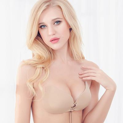 Deruilady Angel Stylish Bra Seamless Strapless Bra Female Must Push Up Bra Wire Free-Bras-DeRuiLaDy Official Store-Skin-A-EpicWorldStore.com