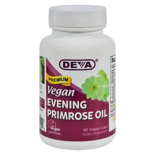 Deva Vegan Vitamins - Evening Primrose Oil - 90 Vegan Capsules-Eco-Friendly Home & Grocery-Deva Vegan Vitamins-EpicWorldStore.com