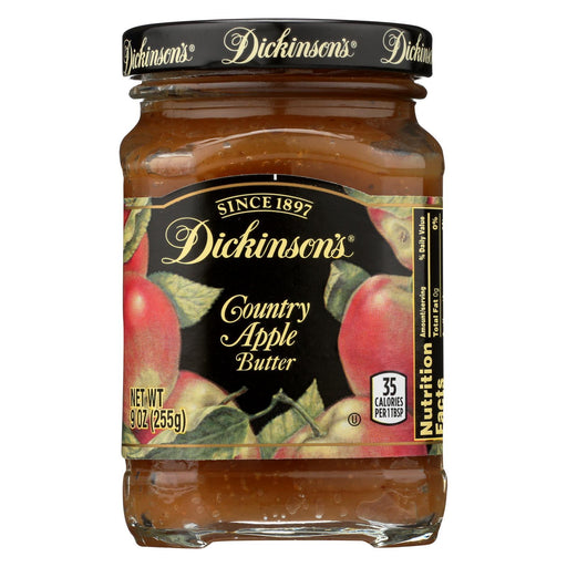 Dickinson - Country Apple Butter - Case Of 6 - 9 Oz.-Eco-Friendly Home & Grocery-Dickinson-EpicWorldStore.com