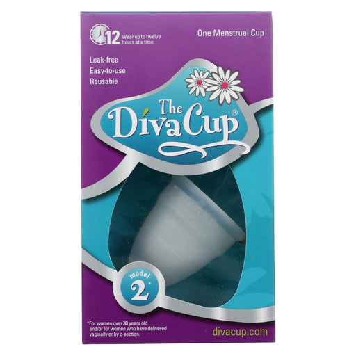 Diva Cup Menstrual Cup -Model 2 - 1 Count-Eco-Friendly Home & Grocery-Diva Cup-EpicWorldStore.com