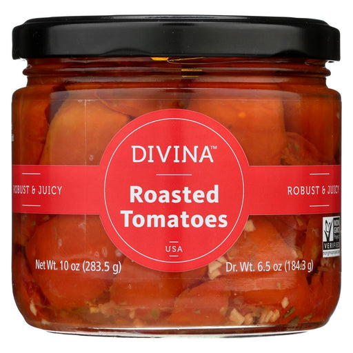 Divina - Tomatoes - Roasted Red - Oil And Herbs - 10 Oz - Case Of 6-Eco-Friendly Home & Grocery-Divina-EpicWorldStore.com