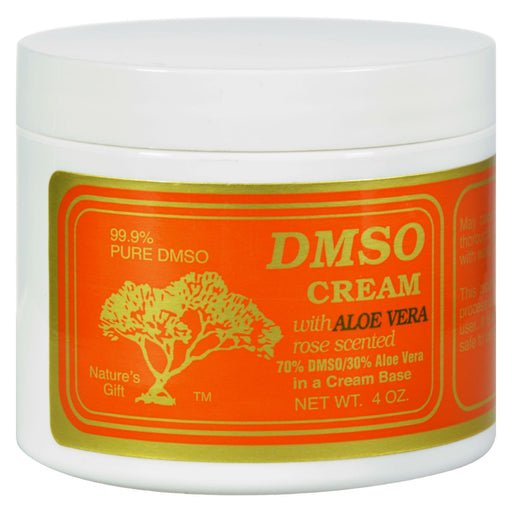 Dmso Cream With Aloe Vera Rose Scented - 4 Oz-Eco-Friendly Home & Grocery-Dmso-EpicWorldStore.com