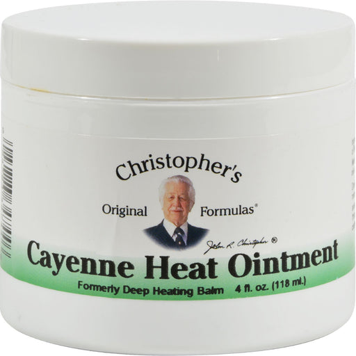 Dr. Christopher'S Cayenne Heat Ointment - 4 Fl Oz-Eco-Friendly Home & Grocery-Dr. Christopher's Formulas-EpicWorldStore.com