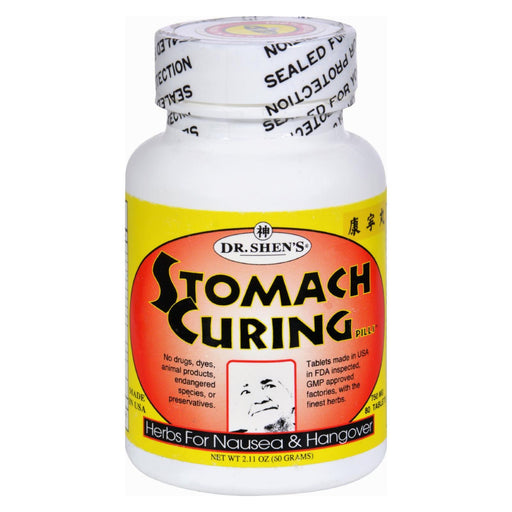 Dr. Shens Stomach Curing For Nausea - 750 Mg - 80 Tablets-Eco-Friendly Home & Grocery-Dr. Shen's-EpicWorldStore.com