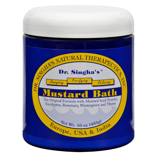 Dr. Singha'S Mustard Bath - 16 Oz-Eco-Friendly Home & Grocery-Dr. Singha's Mustard Bath-EpicWorldStore.com
