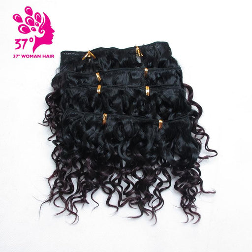 Dream Ice'S 3 Lots For Full Head Tissage Naturel Synthetic Weave Hair 6Inches Ombre Curly Hair 6-xuchang beauty girl hair factory co.,ltd-#144-EpicWorldStore.com