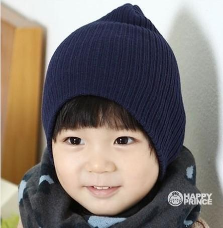Dreamshining Baby Hat Kids Newborn Knitted Cap Crochet Solid Children  Beanies Boys Girls Hats-Baby f976bd1f96b