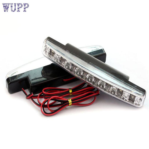 Dropship Hot Selling 8Led Daytime Driving Running Light Drl Car Fog Lamp Waterproof White Dc 12V-ATV,RV,Boat & Other Vehicle-Car&Motorcycle Parts Store-EpicWorldStore.com