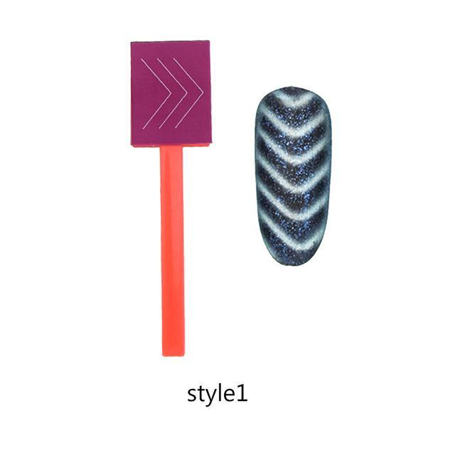 Dual End Replaceable Nail Art Magnet Stick 12Ml Cat Eye Gel Polish Varnish 3D Strip Effect Shaping-Nails & Tools-my-Yeah nailart Store-style1-EpicWorldStore.com