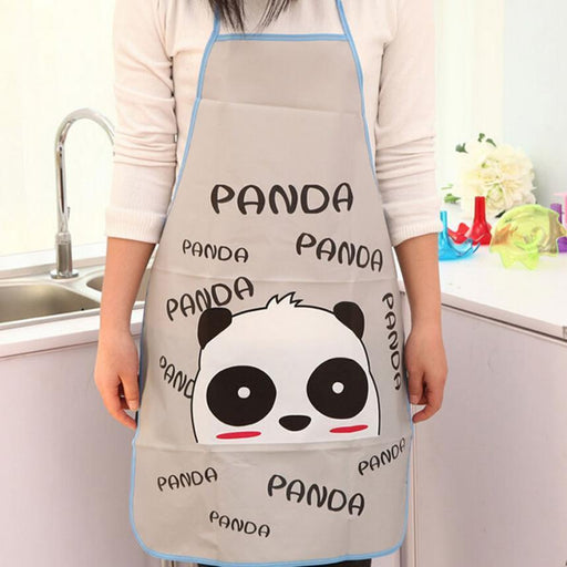 Durable Women Waterproof Cartoon Kitchen Cooking Bib Apron 420-Household Cleaning-Cookie J Store-Yellow-EpicWorldStore.com
