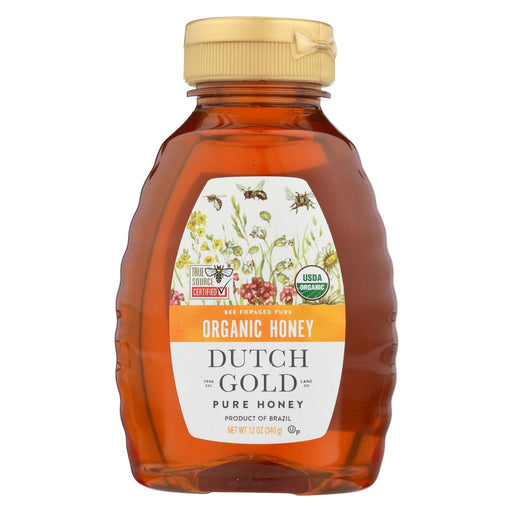 Dutch Gold Honey Organic Wildflower Honey - Case Of 6 - 12 Oz.-Eco-Friendly Home & Grocery-Dutch Gold Honey-EpicWorldStore.com