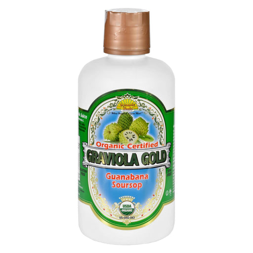 Dynamic Health Juice - Graviola Gold - Organic Certified - 32 Oz-Eco-Friendly Home & Grocery-Dynamic Health-EpicWorldStore.com