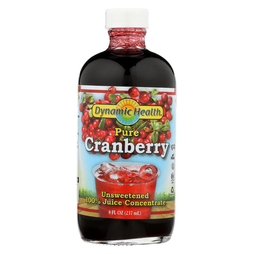 Dynamic Health Pure Cranberry Juice Concentrate - 8 Fl Oz-Eco-Friendly Home & Grocery-Dynamic Health-EpicWorldStore.com