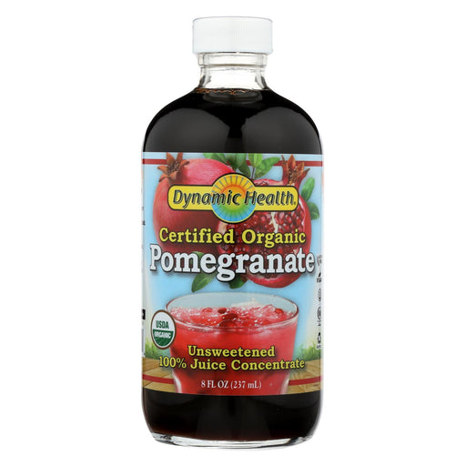 Dynamic Health Pure Pomegranate Juice Concentrate - 8 Fl Oz-Eco-Friendly Home & Grocery-Dynamic Health-EpicWorldStore.com