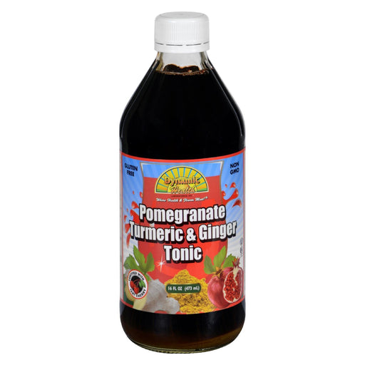 Dynamic Health Tonic - Pomegranate Turmeric And Ginger - 16 Oz-Eco-Friendly Home & Grocery-Dynamic Health-EpicWorldStore.com