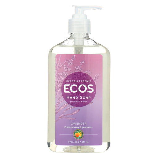 Earth Friendly Hand Soap - Lavender - Case Of 6 - 17 Fl Oz.-Eco-Friendly Home & Grocery-Earth Friendly-EpicWorldStore.com