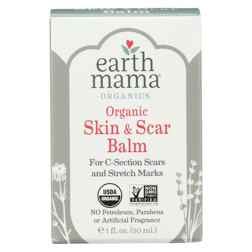 Earth Mama - Organic Skin And Scar Balm - 1 Fl Oz.-Eco-Friendly Home & Grocery-Earth Mama-EpicWorldStore.com