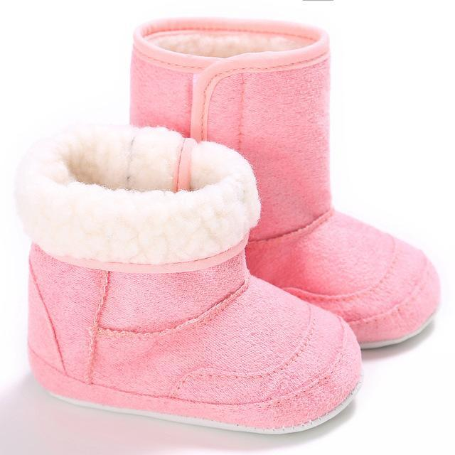 a846ddb43ac78 E&Bainel New Winter Super Warm Newborn Baby Girls First Walkers Shoes  Infant Toddler Soft Rubber