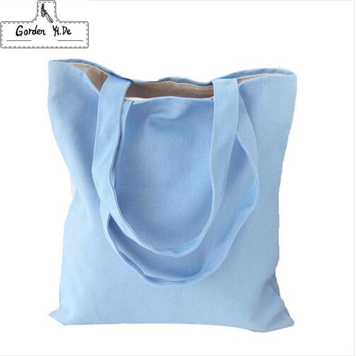 Eco Reusable Shopping Bags Cloth Fabric Grocery Packing Recyclable Bag Hight Simple Design-Functional Bags-Gorden yi de Bags Store-Black single-EpicWorldStore.com