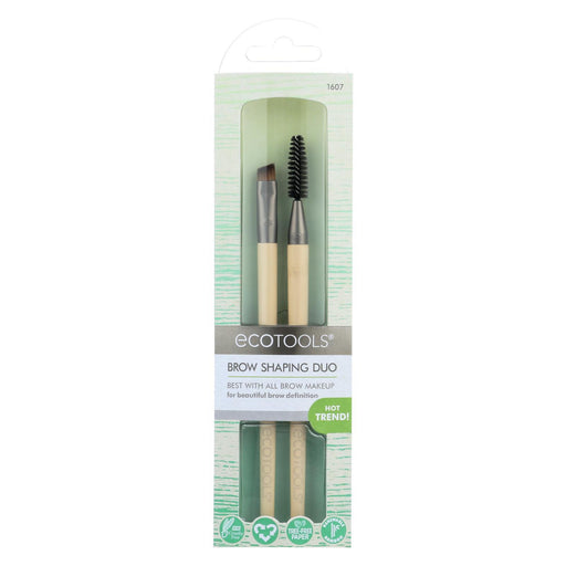 Eco Tool Brush - Makeup - Brow - Duo - 2 Count-Eco-Friendly Home & Grocery-Eco Tool-EpicWorldStore.com