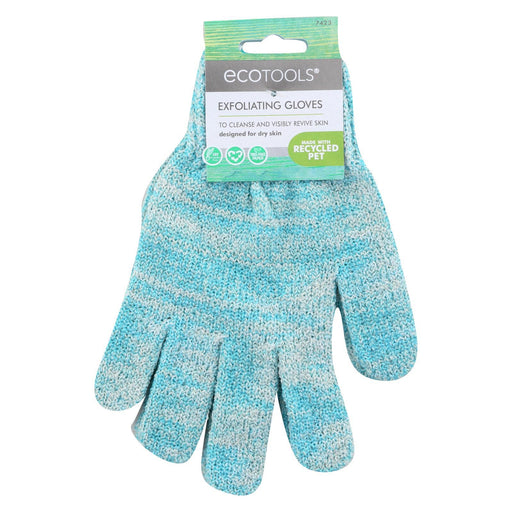 Eco Tool Recycled Bath & Shower Gloves - Case Of 6 - 1 Pair-Eco-Friendly Home & Grocery-Eco Tool-EpicWorldStore.com