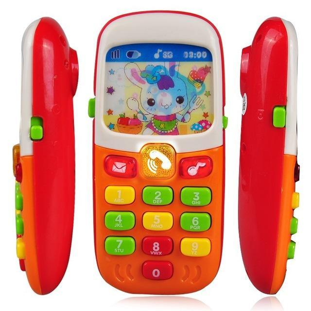 Electronic Toy Phone For Kids Baby Mobile Elephone Educational